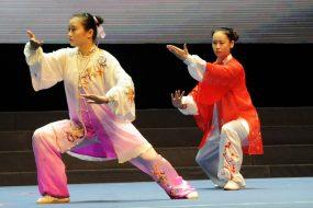 Taichi Chuan de competition demonstration